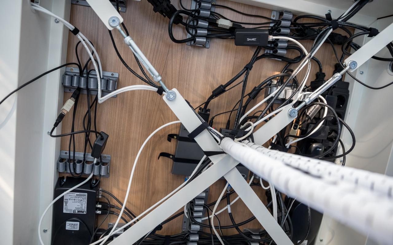 Kabelmanagement oplossingen