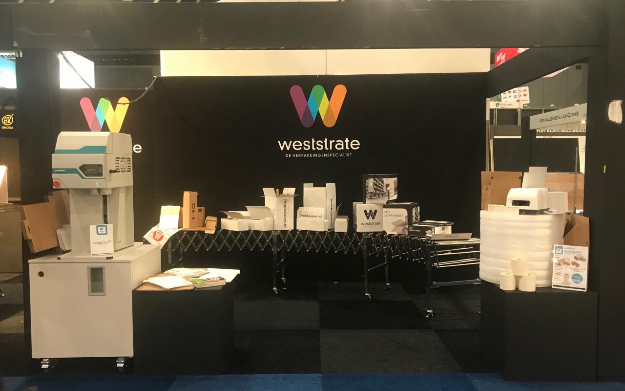 Weststrate verpakkingsoplossing Webwinkel Vakdagen 2018