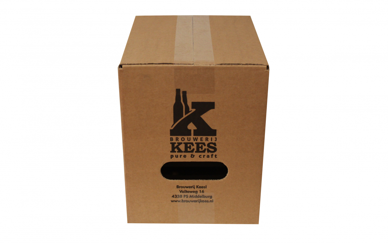 Flesverpakking Weststrate brouwerij Kees