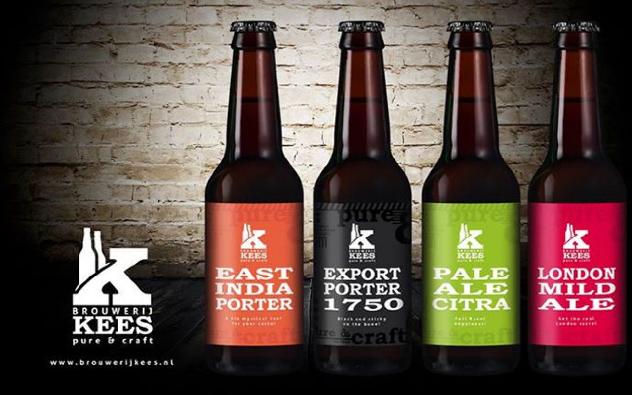 Bierverpakking Weststrate Bierbrouwerij Kees