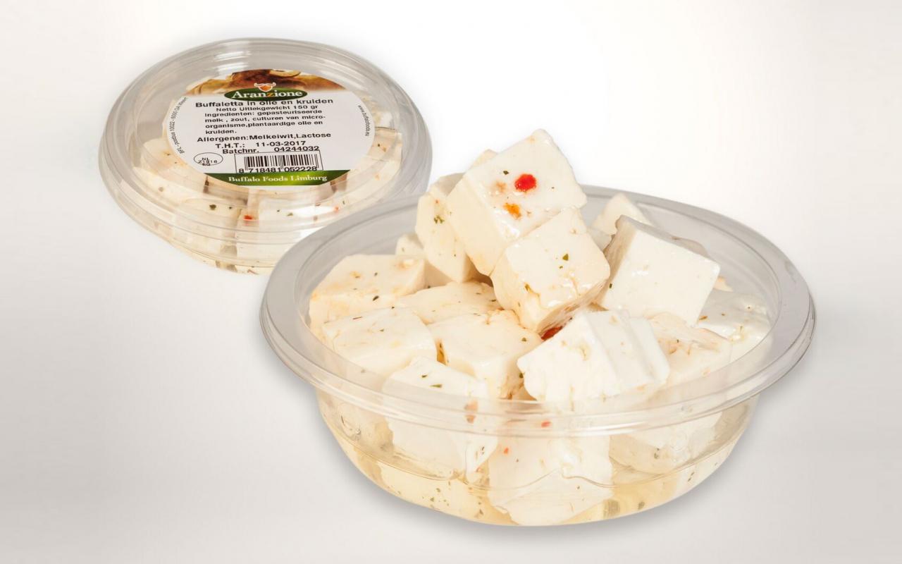 buffalo foods verpakkingen etiket labels weststrate