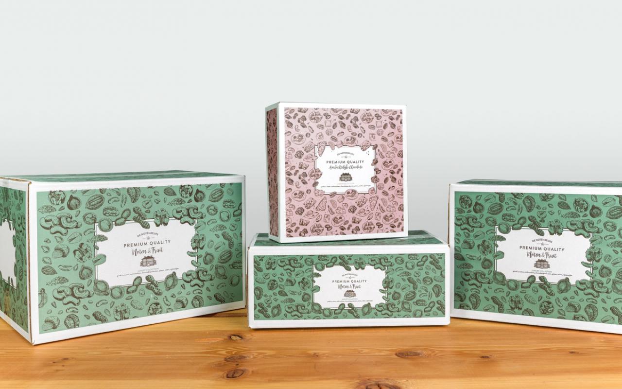 Weststrate kartonnen dozen Notenbeurs
