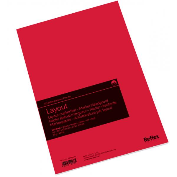 Tekenblok sh marker layout a3 100vel 75gr(vf5004289)