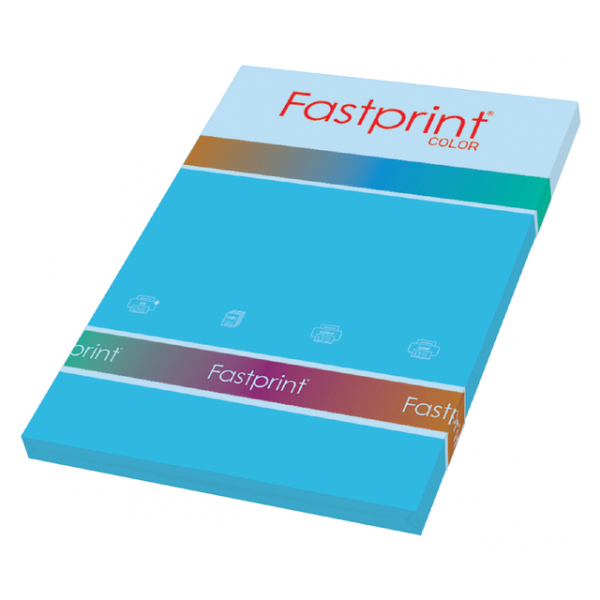 Kopieerpapier fastprint a4 160gr azuurblauw