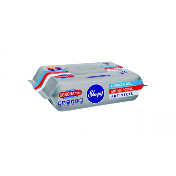 Reinigingsdoekjes sleepy 100 hygienische doekjes(slpy7002)