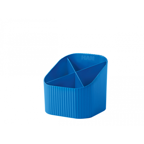 Pennenkoker han re-loop 4-vaks, blauw(ha-17238-914)
