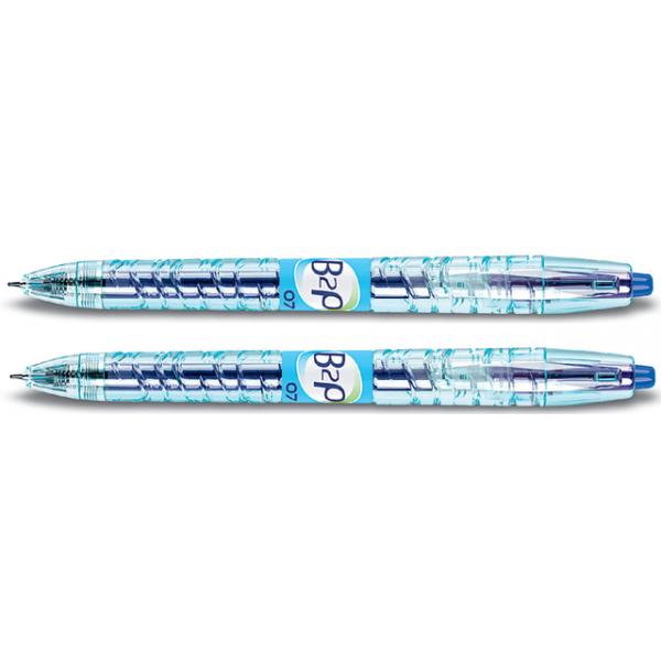 Gelschrijver pilot b2p begreen 0.5mm blauw(2719703)