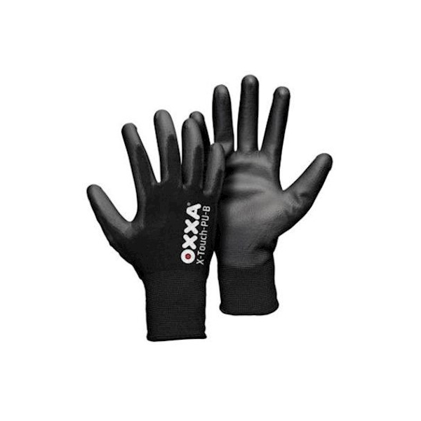 Oxxa X-Touch, PU, zwart, droge montage, L
