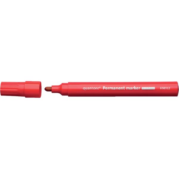 Viltstift quantore perm rond 2-3mm rood