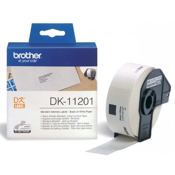 Etiket brother dk-11201 adres 90mmx29mm
