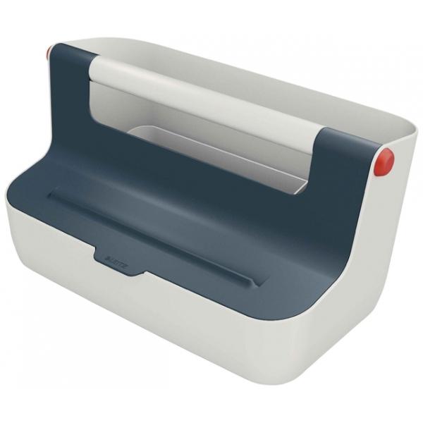 Opbergbox leitz cozy draagbaar grijs(61250089)