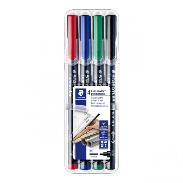 Viltstift staedtler perm ohp lumocolor m 317 wp4