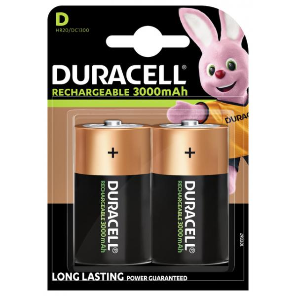 Batterij oplaadbaar duracell d hr20/2 nihm