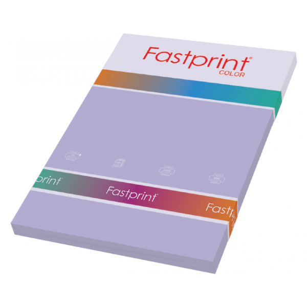 Kopieerpapier fastprint a4 160gr lila