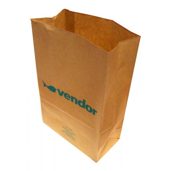 Papieren Afvalzak Vendor 20.5x10x30cm Ds 250stuks
