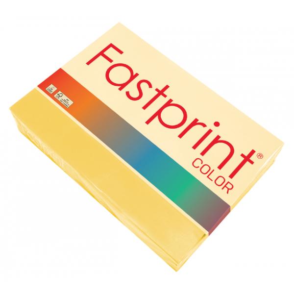 Kopieerpapier fastprint color a3 120gr diepgeel