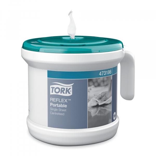 Tork Reflex, poetspapier dispenser, draagbaar, M4, 473186