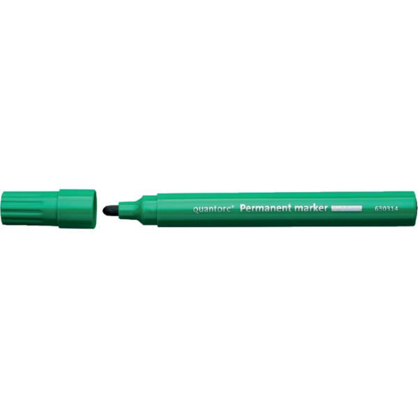 Viltstift quantore perm rond 2-3mm groen