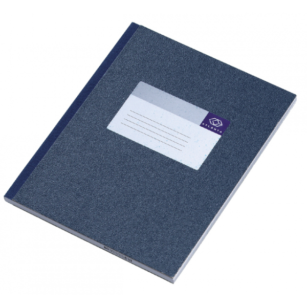 Register breedkwarto a1012-266 150blad blauw