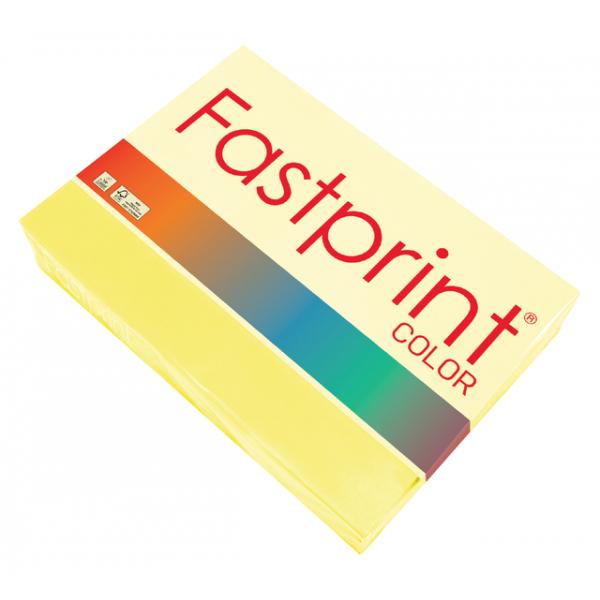Kopieerpapier fastprint kleur a3 120gr zwavelgeel