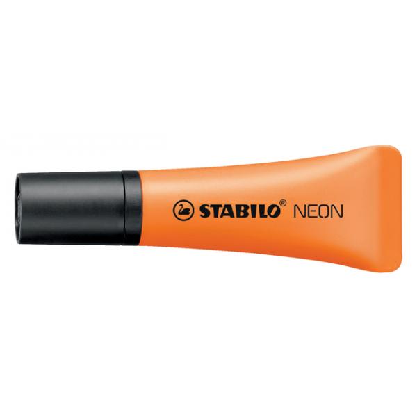 Markeerstift stabilo 72/54 neon oranje(72/54)
