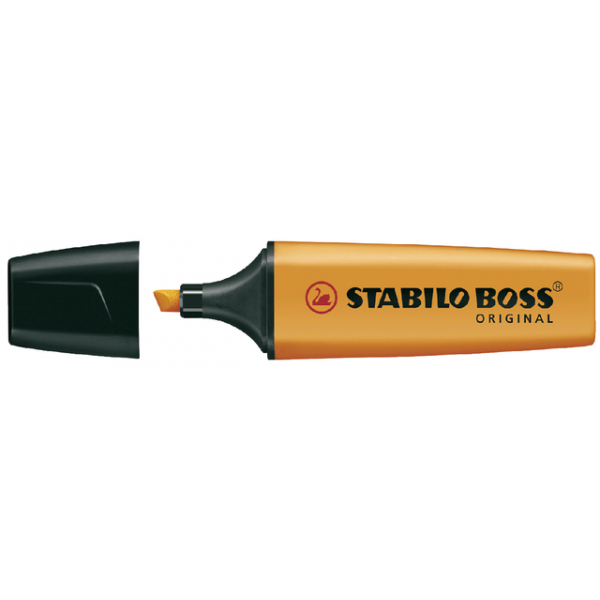 Markeerstift stabilo boss 7054 oranje