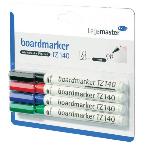 Viltstift lega tz140 whiteboard rond 1mm ass