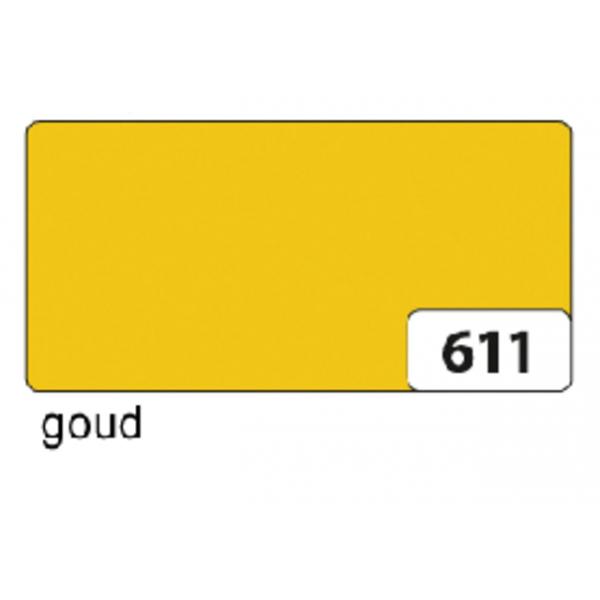 Etalagekarton folia 48x68cm 380gr nr611 goud(65611e)