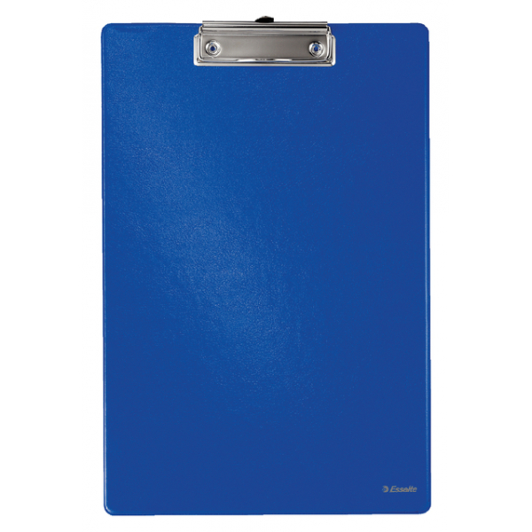 Klembord+band esselte 56055 340x220mm blauw