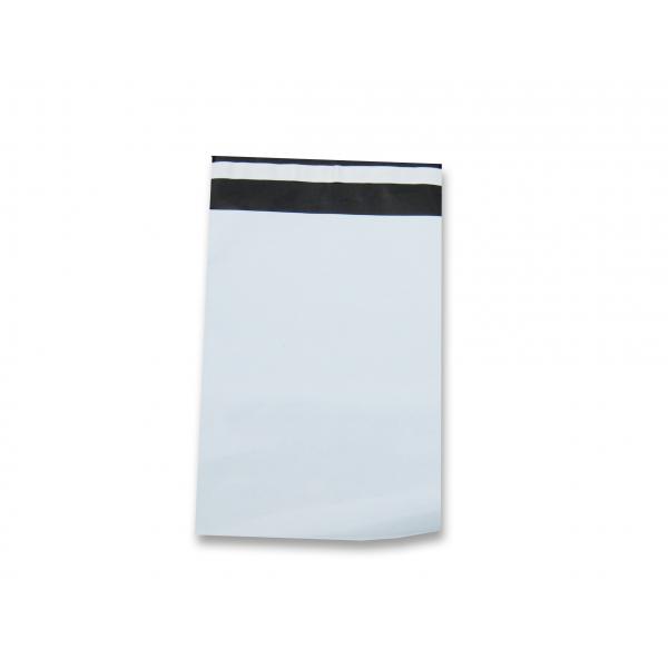 Verzendzak, LDPE coex, 23x32.5+4cm, 50my, wit buiten (500)