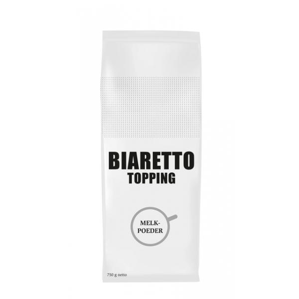 Melkpoeder biaretto topping 750gram(21114004072)