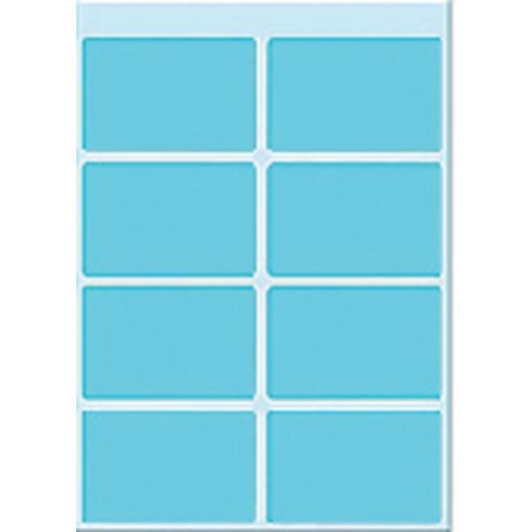 Etiket herma 3693 25x40mm 40st blauw