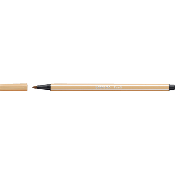 Viltstift stabilo 68/88 lichtoker(68/88)