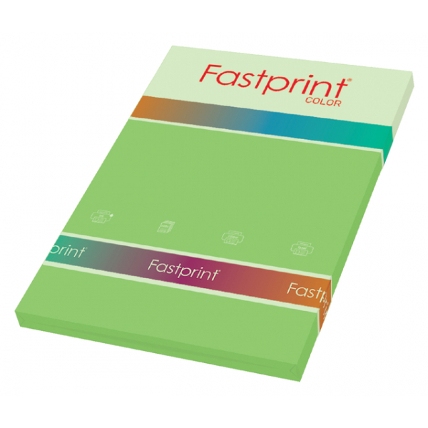 Kopieerpapier fastprint a4 160gr helgroen