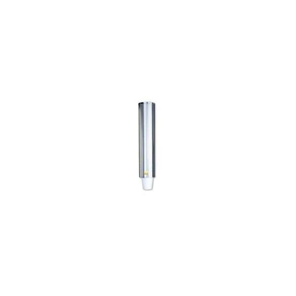 Bekerdispenser, 40cm, RVS, voor 57-73mm