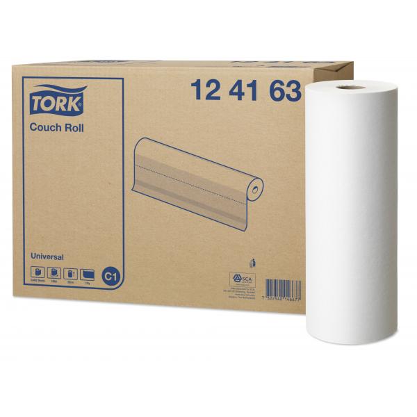 Tork Universal, onderzoekpapier, 49.5cm x 185m, 124163, (2)