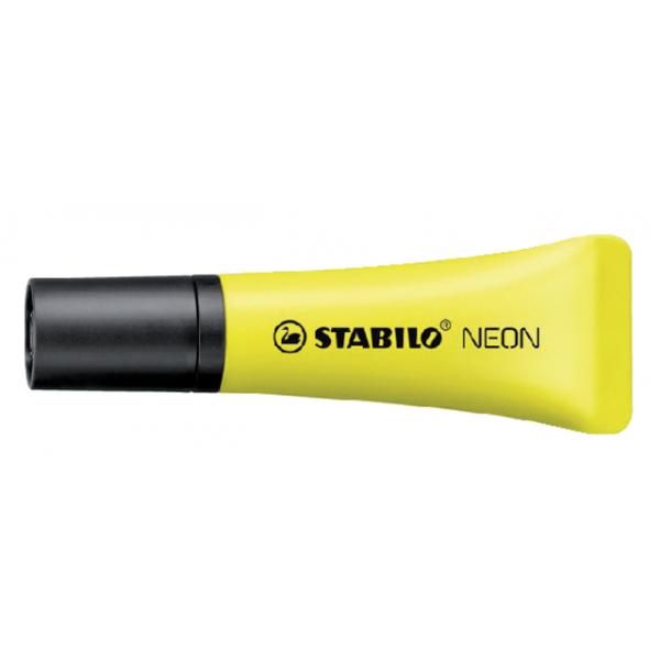 Markeerstift stabilo 72/24 neon geel(72/24)