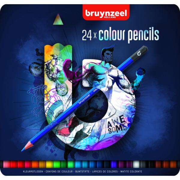 Kleurpotlood bruynzeel teens blauw ass(60212024)