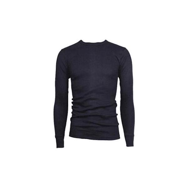 Viloft, shirt, lange mouw, blauw 180gr, M - XXXL