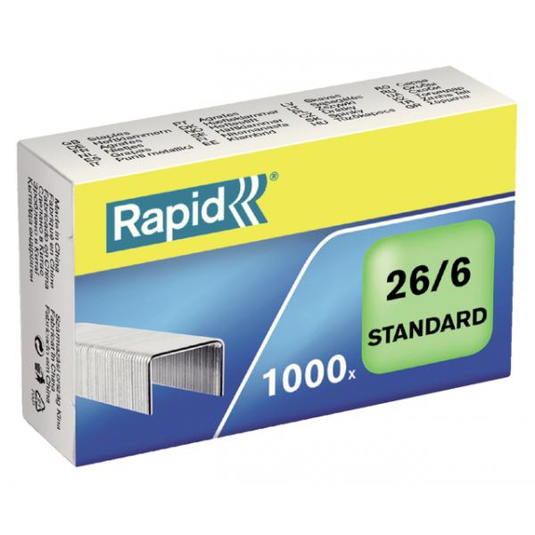 Nieten rapid blue 26/6 gegalvaniseerd 1000st