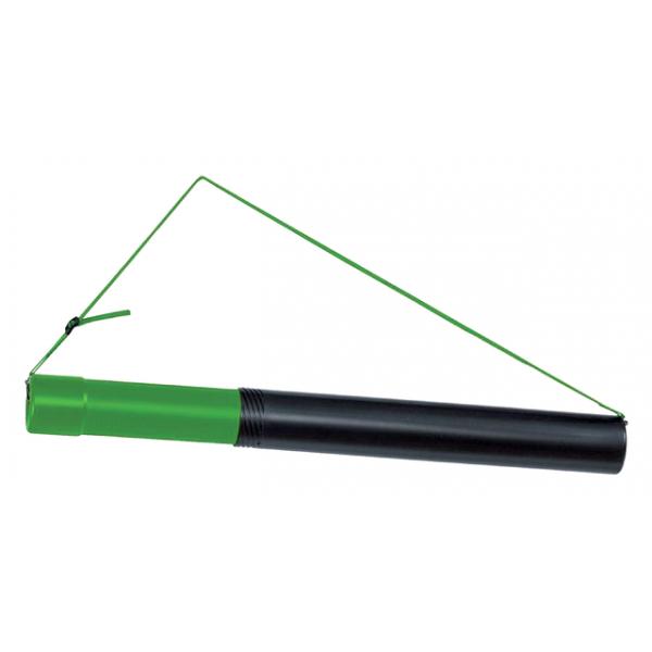 Tekeningkoker linex zoom 124cm doorsnee 8cm zwart