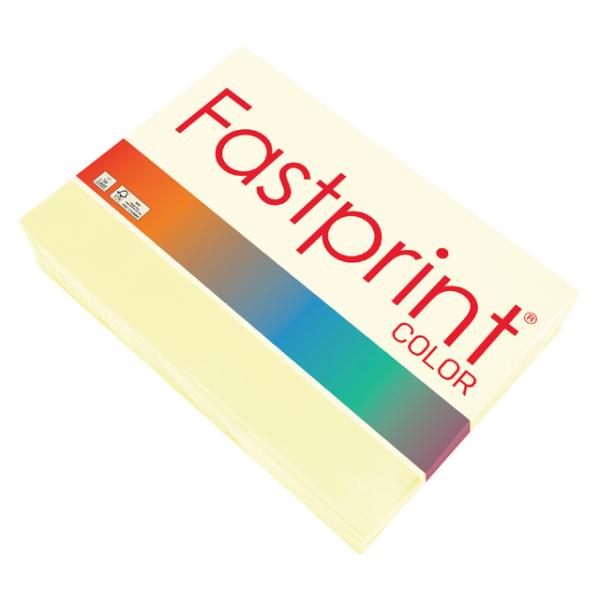 Kopieerpapier fastprint a4 80gr vanille(120256)