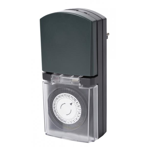Tijdklok perel digitaal voor gebruik buitenshuis(e305do2-g)