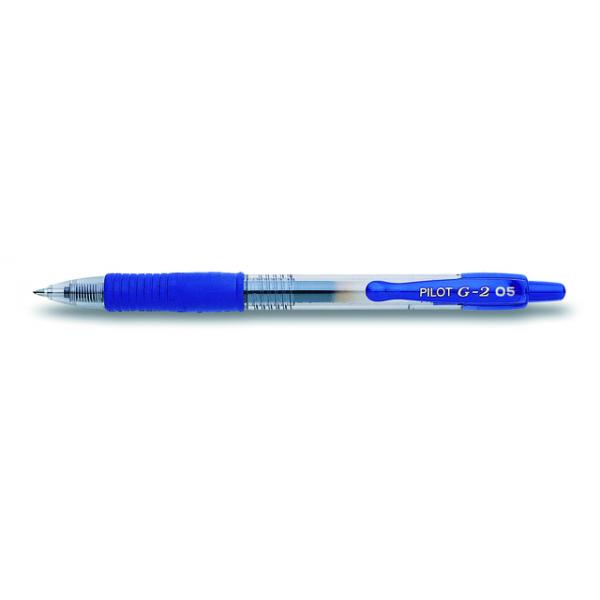 Gelschrijver pilot bl-g2-5 0.3mm blauw