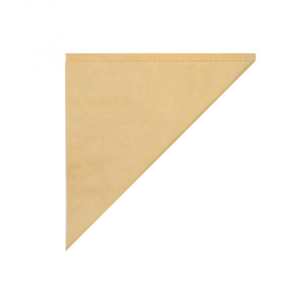 Snackzak, schuin, K17, ersatz ongebleekt (5 kg)