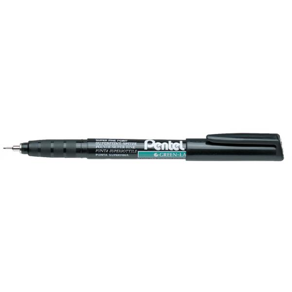 Fineliner pentel nmf50 0.4mm zwart