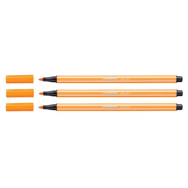 Viltstift stabilo 68 oranje(68/54)