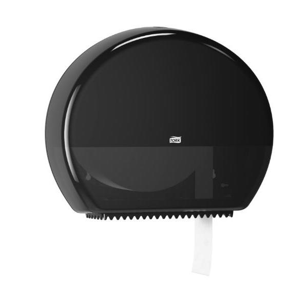 Tork, toiletpapier dispenser, jumbo, zwart, T1, 554008