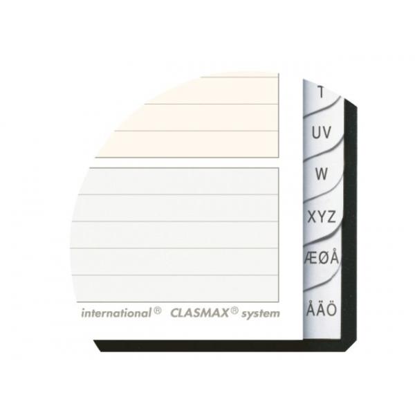 Adresboek oxford int lijn a5 80blz polypro