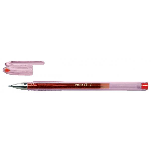 Gelschrijver pilot bl-g1-5 0.3mm rood